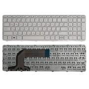 Клавиатура для ноутбука HP Pavilion 17, 17-e Белая, с рамкой