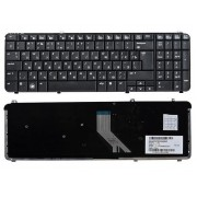 Клавиатура HP Pavilion DV6-1000, DV6-1100, DV6-1200, DV6-1300, DV6-1400, DV6-2000, DV6-2100 Черная