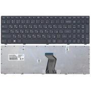 Клавиатура Lenovo IdeaPad G500, G500C, G500H, G500G, G500M, G500T, G505, G505A, G505G, G510, G510A, G510G, G700, G700A, G700G, G710, G710A, G710G Черная, черная рамка