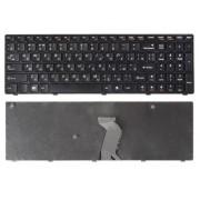 Клавиатура Lenovo IdeaPad B570, B575, B580, B590, G770, G780, V570, V580, Z570, Z575 Чёрная, с рамкой